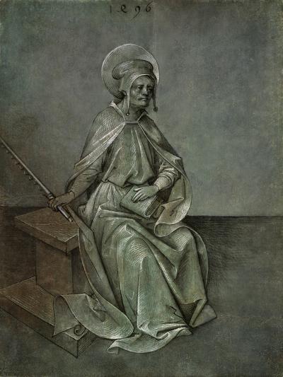 The Apostle Simon, 1496-Mair von Landshut-Giclee Print