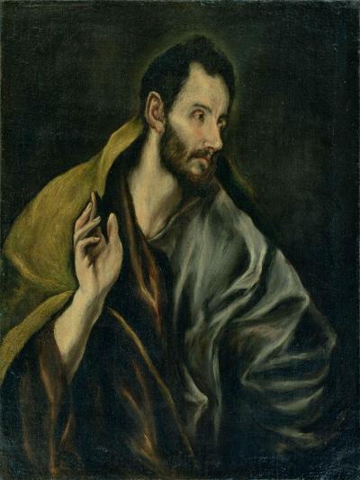 The Apostle Thomas-El Greco-Giclee Print