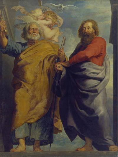 The Apostles St. Peter and St. Paul-Peter Paul Rubens-Giclee Print