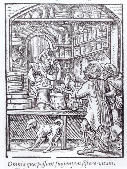The Apothecary, Published by Hartman Schopper--Giclee Print