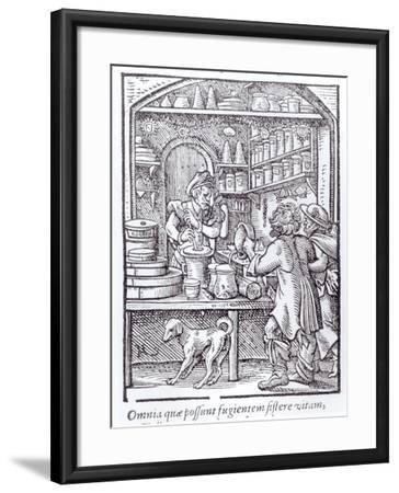The Apothecary, Published by Hartman Schopper--Framed Giclee Print