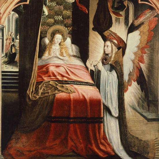 The Apparition of Angel, Scene from St Ursula Cycle, 1500--Giclee Print