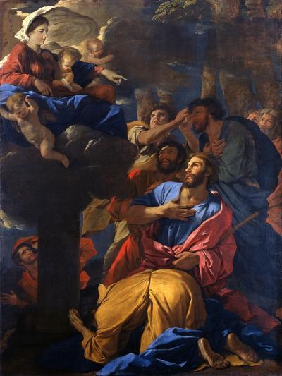 The Apparition of the Virgin to St James the Great, C1629-1630-Nicolas Poussin-Giclee Print