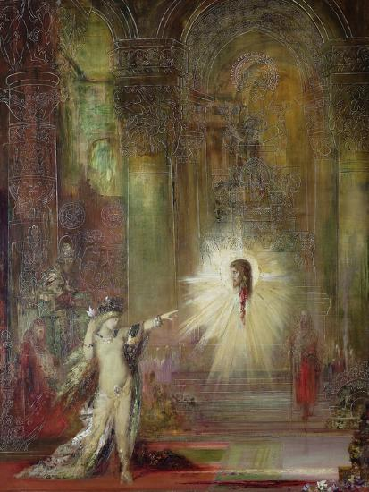 the apparition gustave moreau
