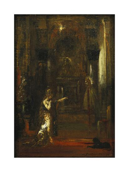 The Apparition-Gustave Moreau-Giclee Print