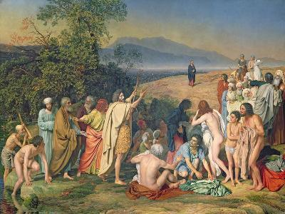 The Appearance of Christ to the People-Aleksandr Andreevich Ivanov-Giclee Print