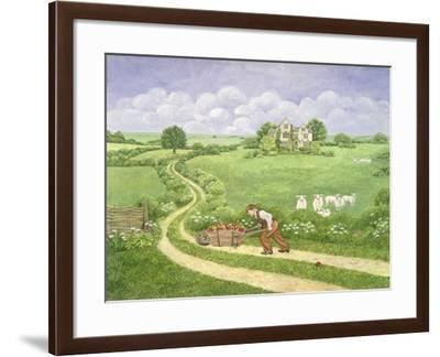 The Apple-Barrow, from 'Far from the Madding Crowd', by Thomas Hardy-Ditz-Framed Giclee Print