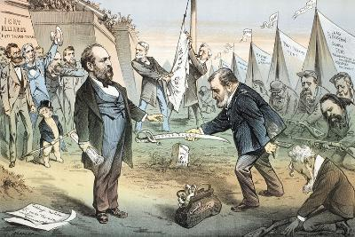 The Appomattox of the Third Termers - Unconditional Surrender, 1880-Joseph Keppler-Giclee Print