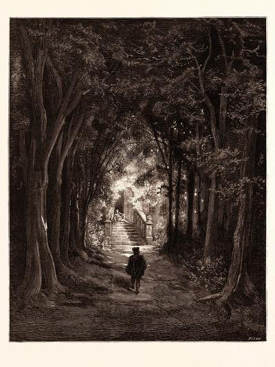The Approach to the Enchanted Palace-Gustave Dore-Giclee Print
