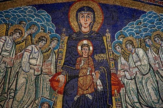 The Apse with the Virgin and Child with Donor--Giclee Print