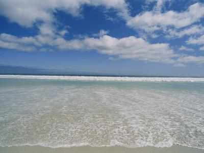 The Aqua Blue Clear Waters of the Atlantic Roll onto This Massive Beach at Kommethie-Stacy Gold-Photographic Print