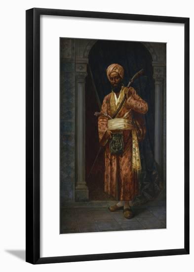 The Arab Guard-Ludwig Deutsch-Framed Giclee Print