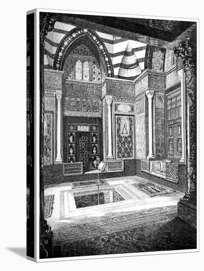 The Arab Hall, C1880-1882-Frederic Leighton-Stretched Canvas Print