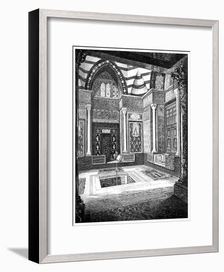 The Arab Hall, C1880-1882-Frederic Leighton-Framed Giclee Print