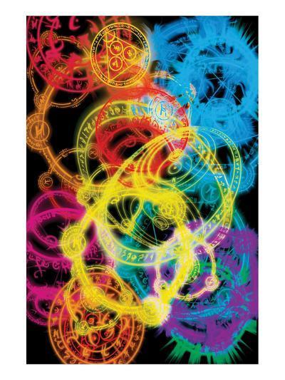 The Arcane Circles I--Art Print