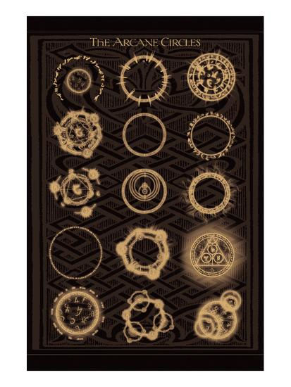 The Arcane Circles II--Art Print