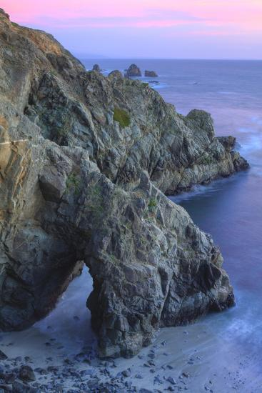 The Arch at Bodega Head-Vincent James-Photographic Print
