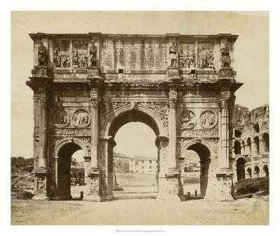 The Arch of Constantine-Giacomo Brogi-Giclee Print