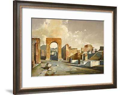 The Arch of Fortune, from Pompei-Fausto and Felice Niccolini-Framed Giclee Print