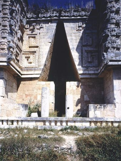 The Arch of the Governor's Palace, Archaeological Site in Uxmal--Photographic Print