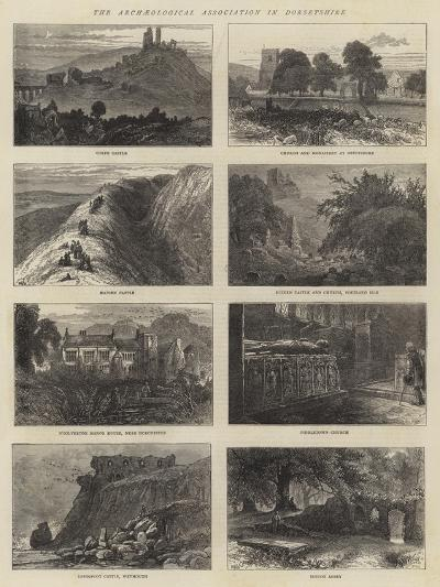 The Archaeological Association in Dorsetshire-William Henry James Boot-Giclee Print