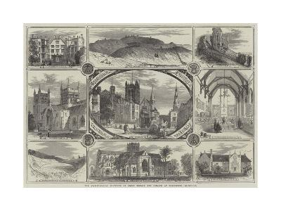 The Archaeological Institute of Great Britain and Ireland at Dorchester--Giclee Print