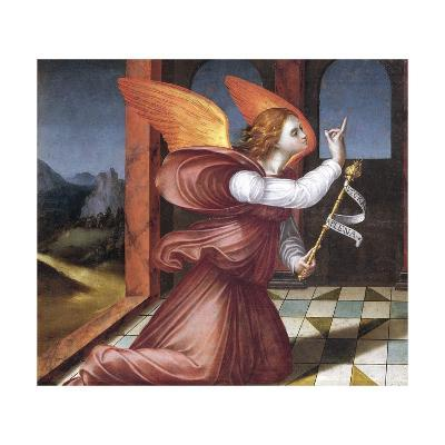 The Archangel Gabriel, Detail from the Annunciation--Giclee Print