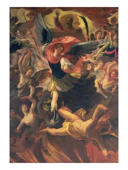The Archangel Michael Vanquishing the Devil-Antonio Maria Viani-Giclee Print