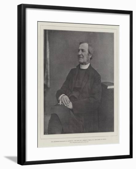 The Archbishop-Designate of Canterbury--Framed Giclee Print