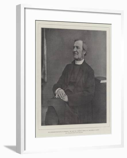 The Archbishop-Designate of Canterbury--Framed Giclee Print
