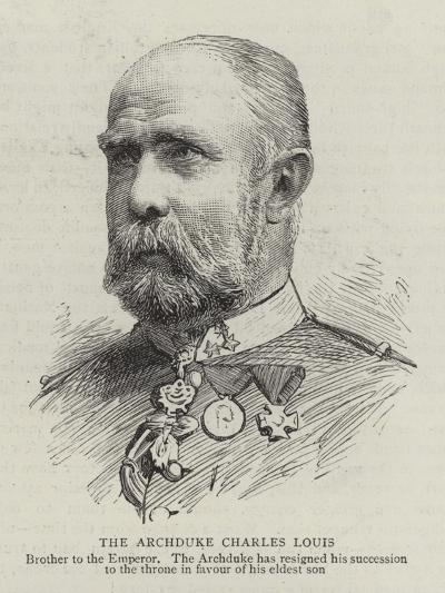 The Archduke Charles Louis--Giclee Print