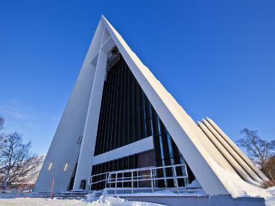 The Arctic Cathedral, Polar Church, Tromso, Troms, North Norway, Scandinavia, Europe-Neale Clark-Photographic Print