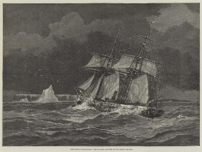 The Arctic Expeditions, the Pandora Beating Up for Carey Islands-Walter William May-Giclee Print