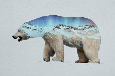 The Arctic Polar Bear-Davies Babies-Art Print