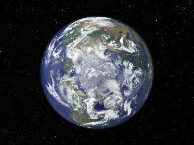 The Arctic, Satellite Image--Photographic Print