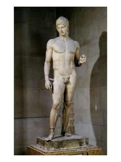 The Ares Borghese, from an Original Dating to circa 430-415 BC, 125 AD--Giclee Print