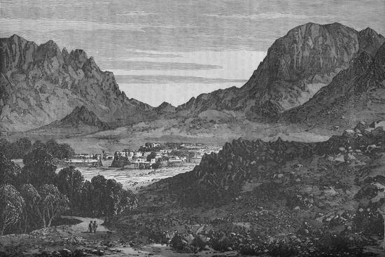 The Argandab Valley, Showing on the right the Hills of the Baba Wali Pass', c1880-Unknown-Giclee Print