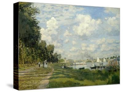 The Argenteuil Basin-Claude Monet-Stretched Canvas Print