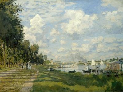 The Argenteuil Basin-Claude Monet-Giclee Print