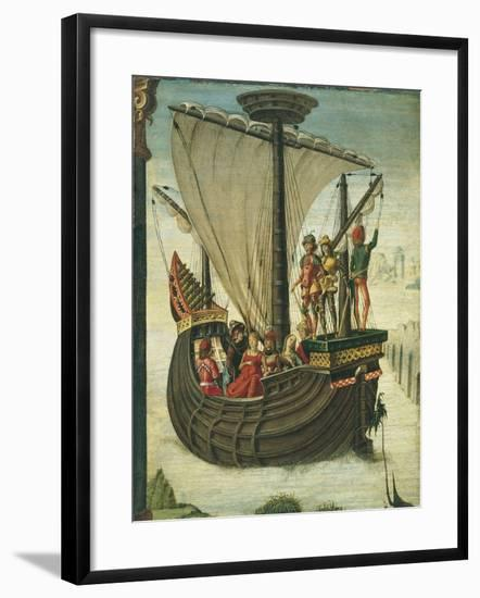 The Argonauts Leaving Colchis-Ercole de' Roberti-Framed Giclee Print