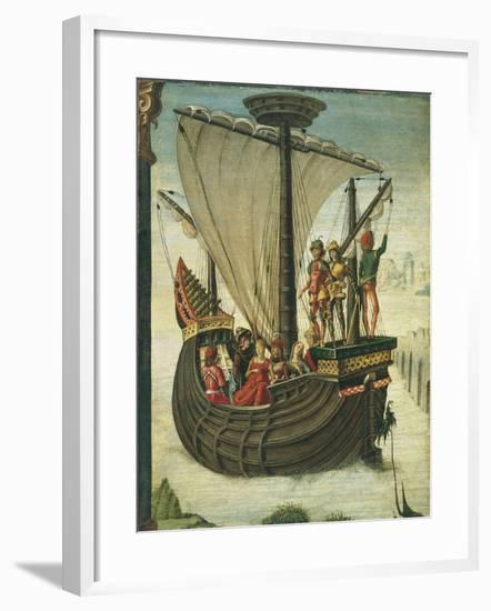 The Argonauts Leaving Colchis-Ercole de' Roberti-Framed Giclee Print