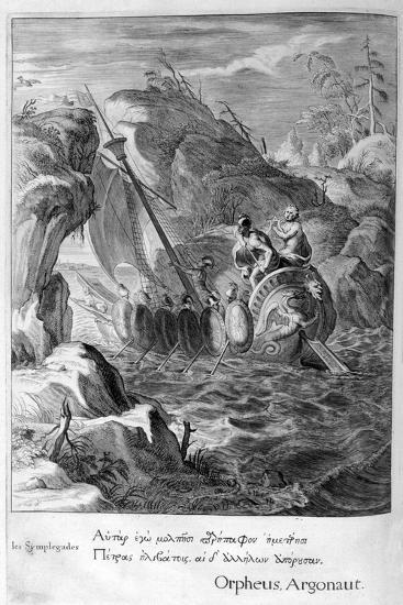 The Argonauts Pass the Symplegades, 1655-Michel de Marolles-Giclee Print