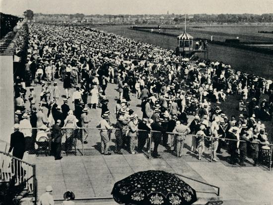 The Arlington Race Track, Chicago, c1930-Unknown-Photographic Print