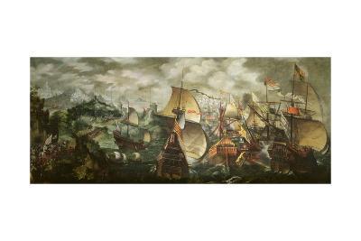 The Armada, 1588-Nicholas Hilliard-Giclee Print