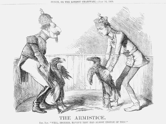 The Armistice, 1859--Giclee Print