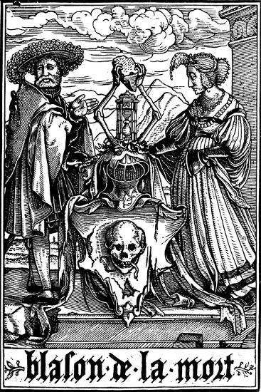 The Arms of Death, 1538-Hans Holbein the Younger-Giclee Print