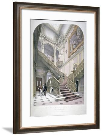 The Army and Navy Club, Pall Mall, Westminster, London, 1853-Robert Kent Thomas-Framed Giclee Print
