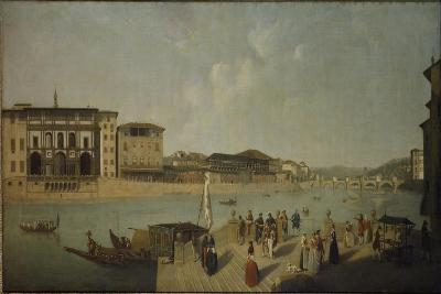 The Arno at Florence-Thomas Patch-Giclee Print