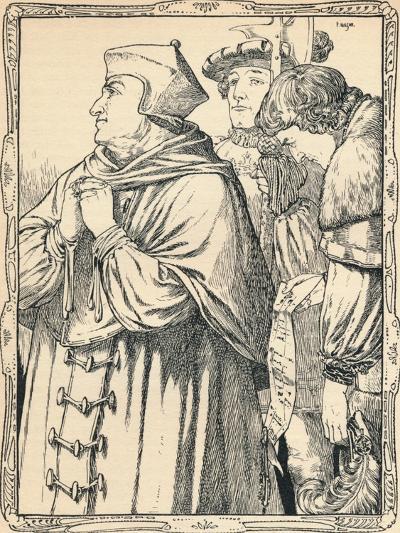 The Arrest of Cardinal Wolsey, 1902-Patten Wilson-Giclee Print