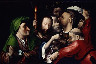 The Arrest of Christ, C.1515-Hieronymus Bosch-Giclee Print